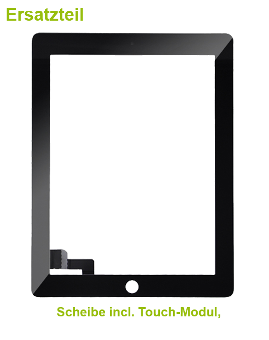 ipad 2 display reparatur handydoctor handy reparatur service. Black Bedroom Furniture Sets. Home Design Ideas