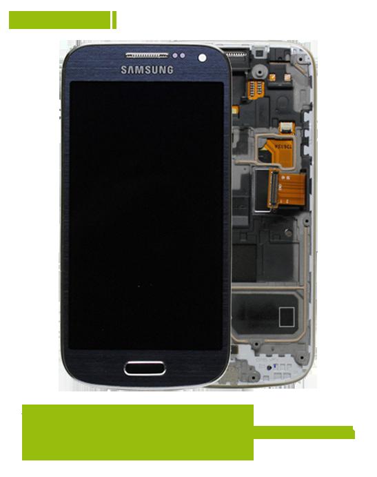 samsung galaxy s4 mini i9195 displayscheibe und display reparatur. Black Bedroom Furniture Sets. Home Design Ideas