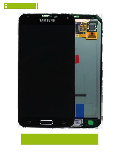 samsung galaxy s5 g900 displayscheibe und display reparatur. Black Bedroom Furniture Sets. Home Design Ideas