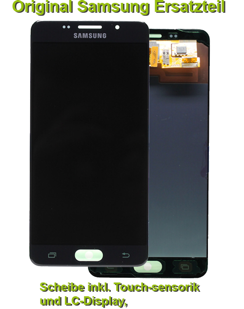 samsung galaxy a5 2016 sm a510f display scheibe reparatur. Black Bedroom Furniture Sets. Home Design Ideas