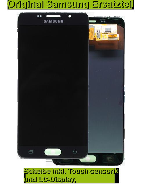 samsung galaxy a5 2016 sm a510f display scheibe reparatur. Black Bedroom Furniture Sets. Home Design Ideas
